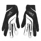 PANGUSAXE T103 Summer Full-Finger Motorcycle Gloves - Black (L / Pair)