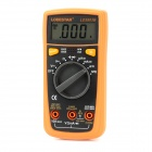 LODESTAR LD3803B Palm Size Automatic Measurement Digital Multimeter w/ Buzz + Backlight - Yellow