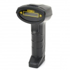 USB Wired Visible Laser Bar Code Scanner Gun - Black