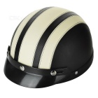 FR 020 ABS Motorcycle / Electric Motorcycle Helmet - Beige + Black