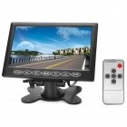 "PALJOY SA-708 7"" TFT Car Monitor w/ AV-In + Holder + Remote Control - Black (PAL / NTSC)"
