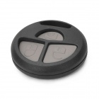 Replacement 3-Button Remote Key Cover Shell Case for Toyota - Black