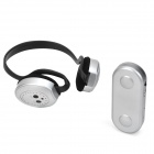 Qiyin SF-820 2-in-1 Wireless Headphone w/ FM Radio + Transmitter - Black + Silvery Grey