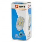 Lexing LX-AMD-052 3w 200lm 3500k E14 5050-SMD Warm White LED lámpara de maíz - Blanco + plata