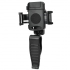 360 Degree Rotary Car Mount Holder w/ Clip for Cellphone / GPS + More - Black