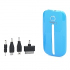 i.shock External 4000mAh Power Battery Charger Power Bank for iPhone / HTC / Samsung / MP3 - Blue