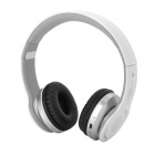 AT-BT802 Bluetooth v2.1+EDR Wireless Headphone - White + Silver Grey + Black