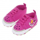 Sweet Fruit Pattern Baby Shoes - Multicolored (6~9 Months / Pair)