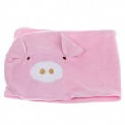 Lovely Pig Baby's Dual-Side Umbilical Cord Protection Band - Pink