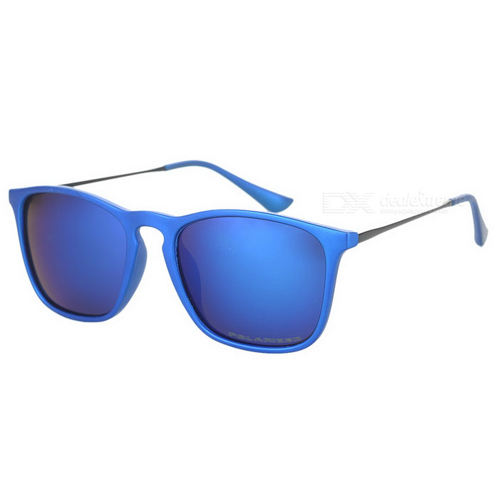 OREKA 4187 Stylish UV400 Sunglasses - Sand Blue oreka children s cool cellulose acetate frame blue revo lens uv400 sunglasses brown blue