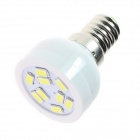 GCD S27 E14 4W 280lm 6500K 9-SMD 5630 Cool White Energy Saving Light Bulb - White (AC 220~240V)