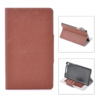 Protective PU Leather Case for Google Nexus 7 II - Coffee