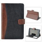Protective Sheep Leather Case w / Auto-Sleep für Google Nexus 7 II - Schwarz + Braun