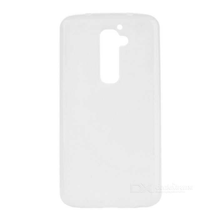 PUDINI Stylish Protective TPU Back Case para LG Optimus G2 - Branco