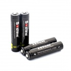 "Soshine 3.2V ""280mAh"" Rechargeable LiFePO4 10440 AAA Batteries - Black (4 PCS)"