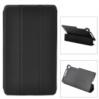 Protective PU Leather Case w/ 3-Fold Auto Sleep Cover for Google Nexus 7 II - Black