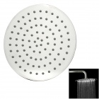 "PHASAT LL008Y 8"" Stainless Steel Ultra-Thin Round Top Spray Shower - Silver"