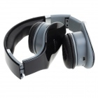 SD-888 Head-Mounted MP3 Player Wireless Headphones w / TF - Negro