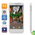 "Utime FX Quad-Core Android 4.2 WCDMA Bar Phone w / 5,0 ""IPS OGS, Wi-Fi, GPS und FM - White"