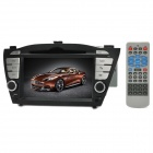 "LSQSTAR ST-I047 7"" DVD Player w/ GPS BT TV DVR RDS Ipod HD Wifi Dual Zone for Hyundai IX35"