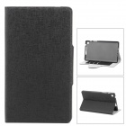 Stylish Oracle Lines Style Protective Case for Google Nexus 7 II - Black