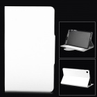 Stylish Oracle Lines Style Protective Case for Google Nexus 7 II - White