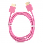 Gold Plated Connector HDMI 1.3 Male to Male Cable - Pink (1.5m)