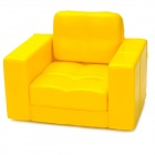 SIRI'S COUCH SC-05-BY PU Cell Phone Holder for Iphone 4 / 4S / 5 - Yellow