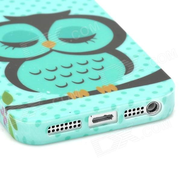 Case Design owl cell phone case : Cute Owl Pattern Stylish TPU Back Case for Iphone 5 - Multicolored ...