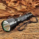 C8 Cree XR-E P G4 45lm 5-Mode Green Hunting Flashlight - Black (1 x 18650)