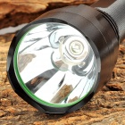 C8 45lm 5-Mode Green Hunting Flashlight w/ Cree XR-E P G4 - Black (1 x 18650)