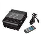 M-520 Car Motorcycle Hi-Fi USB/SD/FM Digital Player Amplifier - Black