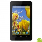 "TUOPODA T80I 7"" Dual Core Android 4.1.2 Tablet PC w/ 512MB RAM / 4GB ROM / 2 x SIM - Silver + White"