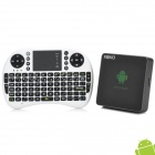 REKO QT830 + i8 Air Mouse Android 4.2 Mini PC Google TV Player w/ 1GB RAM / 4GB ROM / TF / HDMI