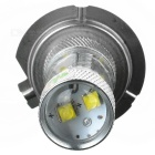 HJ Y-H7-16W H7 30W 600lm 6500K 6-LED White Light Car Headlamp w/ Cree XB-D R3 - Silver