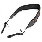 Universal Camouflage Pattern Elastic Decompression Strap for DSLR - Black