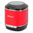 Shinco HC-909 drahtloses Bluetooth V3.0 Subwoofer Speaker w / TF-Karten-Slot - Schwarz + Rot