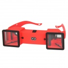 Mini 3D Stereo Viewer Stereoscope - Red