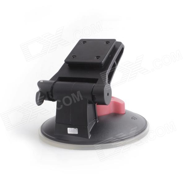 ESER ZJP Multifunctional Micro Car Strong Suction Cup Accessory for GAOKI Camera - Black + Red