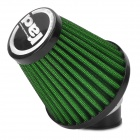 Rad Universal Replacement 35mm Caliber Air Filter for Motorcycle / Scooter - Green + Black