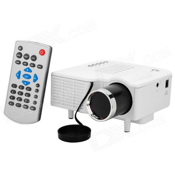 UC28+ LED High Definition Home Mini Projector Supports HDMI Smart Cell Phone / Computer Connected