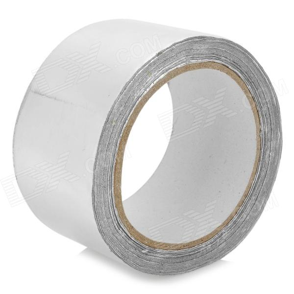 High Temperature Resistant Anti-Radiation Shielding Aluminum Foil Tape - Silver (20m) [vk] travel switch limit switches wlca12 2n silver contact thickness aluminum high temperature resistant