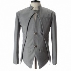 Monseden JK02 Men's Single Breasted Coat - Grey (Size-XL)