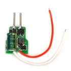 MR16 7W 12V Capacitor Power Supply for 4~7 x LEDs - Green + Black + Red