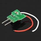 MR16 7W 12V Capacitor Power Supply para 4 ~ 7 x LEDs - verde + preto + vermelho