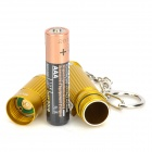 Olight I3S 80lm 4-Mode Branco lanterna w / Cree XP-G2 R5 - Golden (1 x AAA)