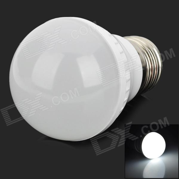 JR-E27-3W-W-PC E27 3W 200lm 6400K 9-SMD 2835 LED White Light Bulb - White (220~240V)