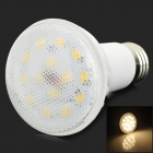E27 7W 420lm 3000K 14-SMD 5630 LED Warm White Spotlight Bulb - White
