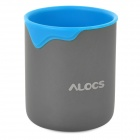 Alocs Outdoor Color-drip Water Cup - Blue + Grey (300ml)