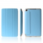 ENKAY ENK-7106 Protective PU Leather Case for Google Nexus 7 II - Sky Blue